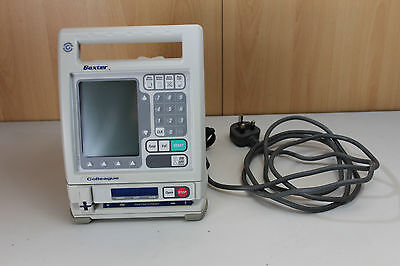 Baxter colleague Guardian Volumetric infusion pump with 1x  IV giving set