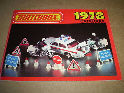 Matchbox Toy Catalogue 1978 Uk Edition Vnmint Condition For Age