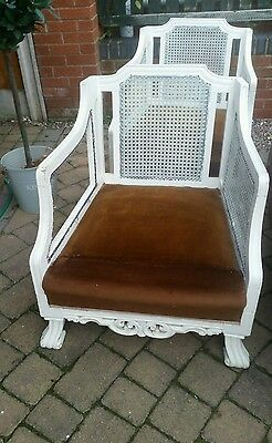 Pair Of Berge Chairs For Project Or Restoration £25 For Both