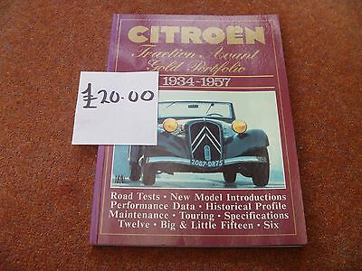 CITROEN TRACTION AVANT book.
