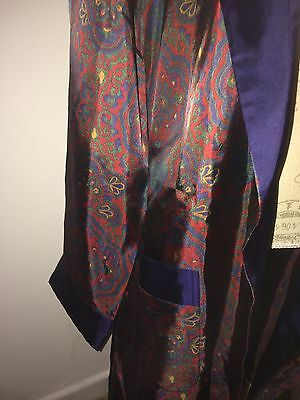 St Michael( Tricel ) Smoking Jacket/dressing Gown