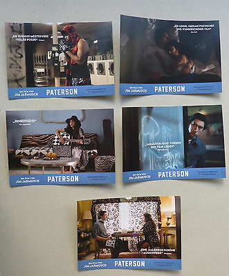 PATERSON - Lobby Cards Set of 5 - Adam Driver - Jim Jarmusch