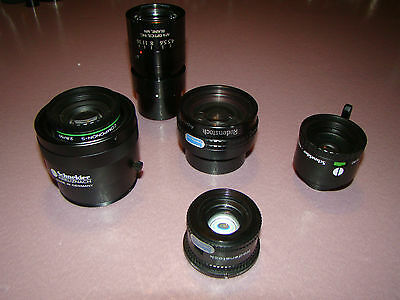 Lot of 5 Various Photo Lenses (276)