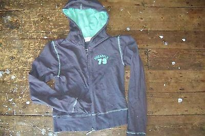 Pineapple Hoody, green. M-L Good Condition