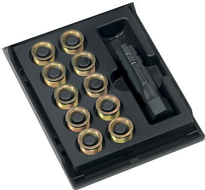 Kit Professionnel Reparation Filetage M14 x 1,25 Helicoil V-Coil Bougie 11,2mm