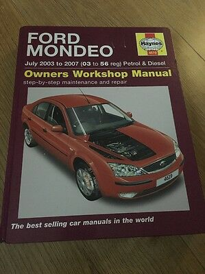 haynes ford mondeo