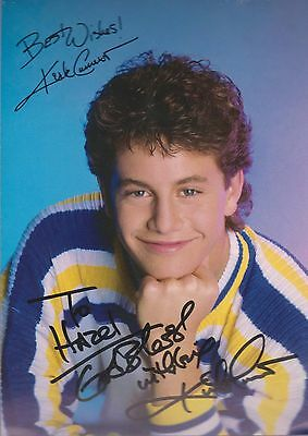 KIRK CAMERON `Unstoppable` etc  Signed pic -