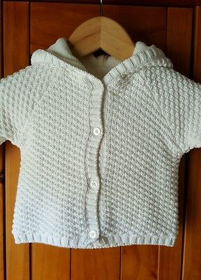 Baby's Cream Cardigan Age 3-6 months