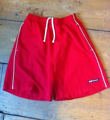 Mens Swim Shorts Red Reebok
