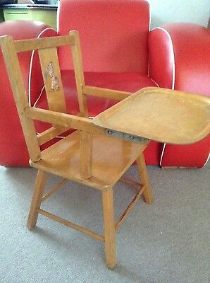 Reduced Price! Vintage infants feeding chair 1960