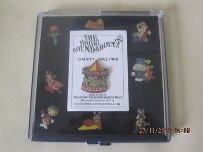 Vintage The Magic Roundabout Charity Lapel Pins 1993 Anthony Nolan Appeal