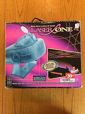 *RARE* Laser One - Can You Imagine - Uses REAL Laser - Wireless Tech Music - NEW
