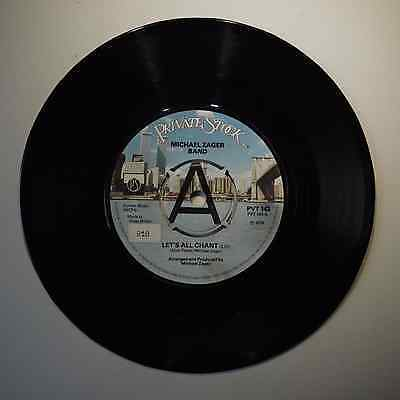 """Michael Zager Band - Let's All Chant - 7"""" Vinyl Single"""