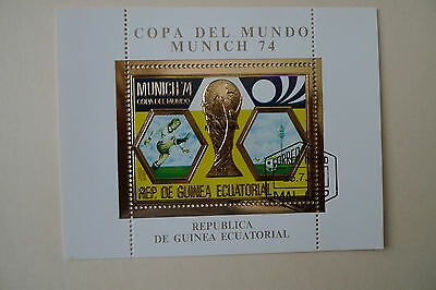Guinea Soccer World Cup 1974  No Red No Orange Variety