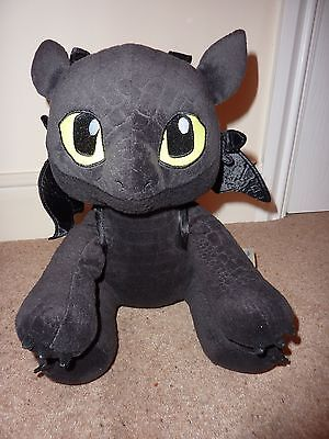Build a Bear Toothless plush toy: How to train your dragon