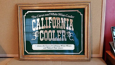 Vintage California Cooler Mirrored Sign