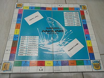 Subbuteo Angling/fishing Game Board Only Unboxed.