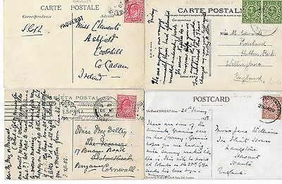 Paquebots 16 Covers & Cards Various Ports/ships Cachets - From 1907 Onward