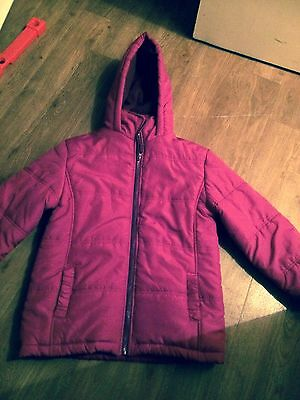 Padded Purple/pink Coat age 7-8 Euro 130 years