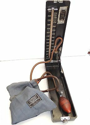 Vintage Accoson Dominion Standard Blood Pressure Monitor Medical Doctors Meter