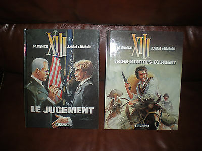Xiii - Lot Des Tomes 11 Et 12 En Editions Originales