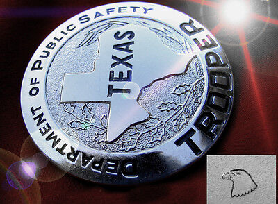 ü6/ Historisches US badge - Trooper Department Public Safety TEXAS