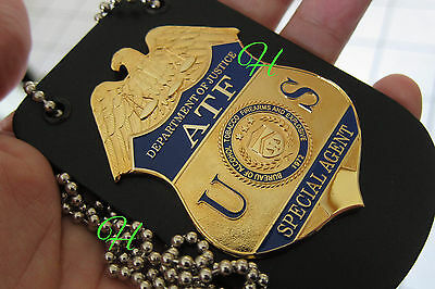 ü6/ Historisches police badge + US Special Agent ATF / Department of Justice