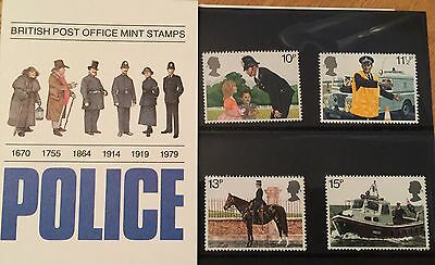 """Great Britain Presentation Pack Stamps - """"Police"""""""