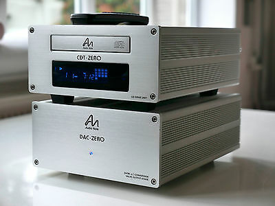 Audio Note CDT-Zero CD Transport And DAC Zero With Valve/tube Output Stage