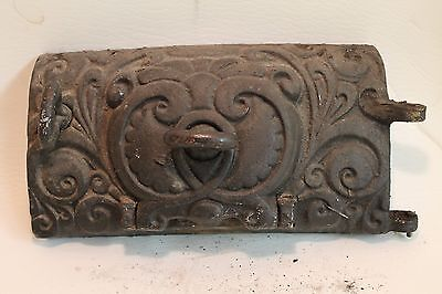 Antique/Vintage cast iron vent cover or Furnace/Stove door