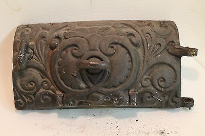 ~ Antique/Vintage cast iron vent cover or Furnace/Stove door