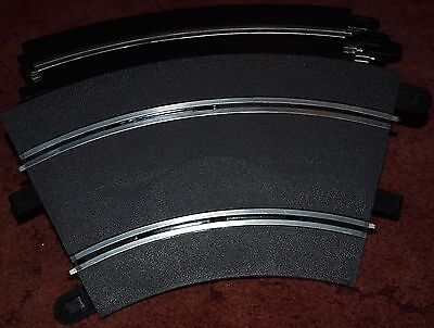 SCALEXTRIC SPORTS TRACK SECTIONS 8 x RADIUS 2 CURVES / BENDS 45 DEGREE C8206