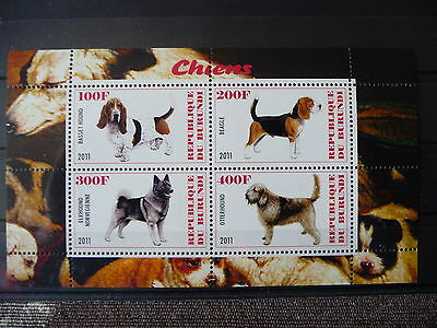 Hunde 03 dogs Chiens Tiere animals pets Fauna Block KB sheets postfrisch ** MNH