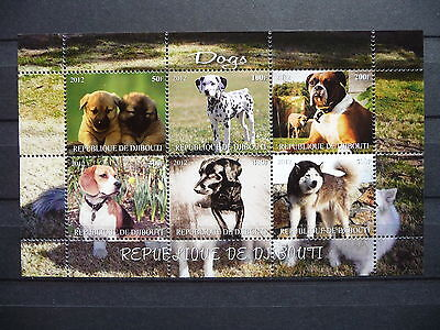 Hunde 18 dogs Chiens Haustiere pets Welpen puppies KB sheets postfrisch ** MNH