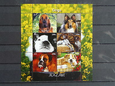 Hunde 19 dogs Chiens Haustiere pets Welpen puppies KB sheets postfrisch ** MNH