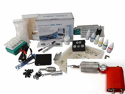 TATTOO START KOMPLETTSET ROTARY LADY - Tattoomaschine INKgrafiX® IG-7g SET PROFI