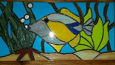 Tropical Fish Real Stained Glass Fish Tank Picture