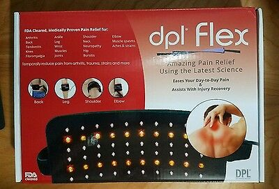 NEW! DPL Flex Pad LED Light Therapy Pad Pain Relief System Wrap. Ships free!