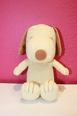 Peanut Snoopy Baby Rattle Plush Toy