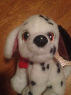 Disney 101 Dalmations Stuffed Two tone barks when you squeeze