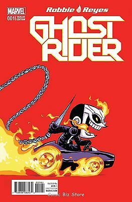 Ghost Rider #1 (2017) 1St Printing Skottie Young Baby Variant Cover Marvel Now