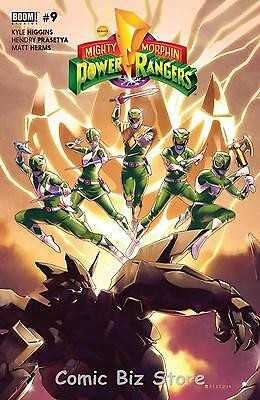 Mighty Morphin Power Rangers #9 (2016) 1St Print Bagged And Boarded Boom Studios