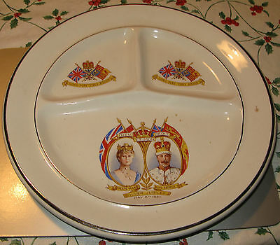 Queen Mary And King George V Silver Jubilee Plate By James Kent 1935