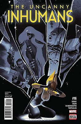 Uncanny Inhumans #16 (2016) 1St Printing Bagged & Boarded Marvel Now