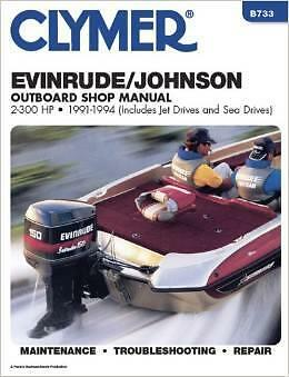 EVINRUDE JOHNSON OUTBOARD MOTOR 25 28 30 35 40 48 50 60 HP Owners Service Manual