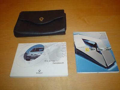 RENAULT SCENIC 1 I EXPRESSION DYNAMIQUE Owners Manual Service Handbook Book