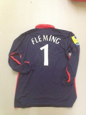 Stephen Fleming Middlesex County Cricket Club one day shirt 2001