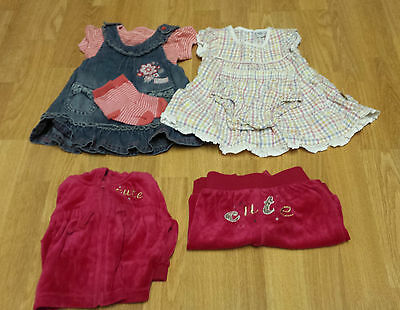 Girl's 7 Item Bundle Baby 0-3 Months Excellent Condition - Spring/summer