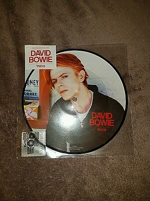 DAVID BOWIE TVC15 RSD ONLY PICTURE DISC very rare