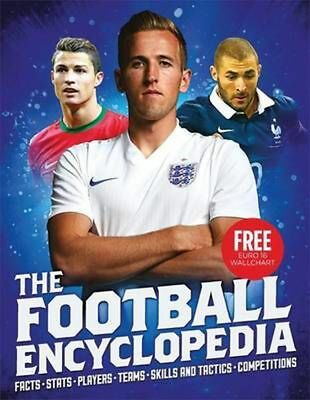 The Football Encyclopedia (2016 Ed.) by Clive Gifford Paperback Book